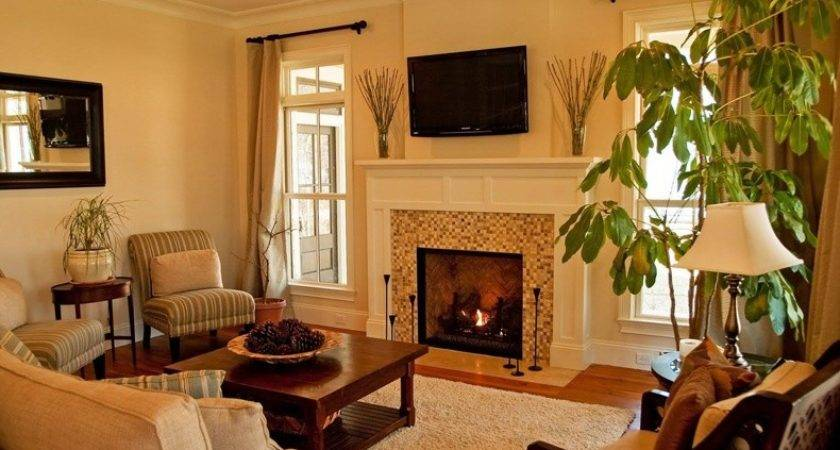 Small Living Room Ideas Corner Fireplace