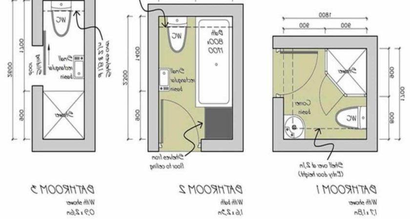 Small Narrow Master Bath Layout Room Floor Plans