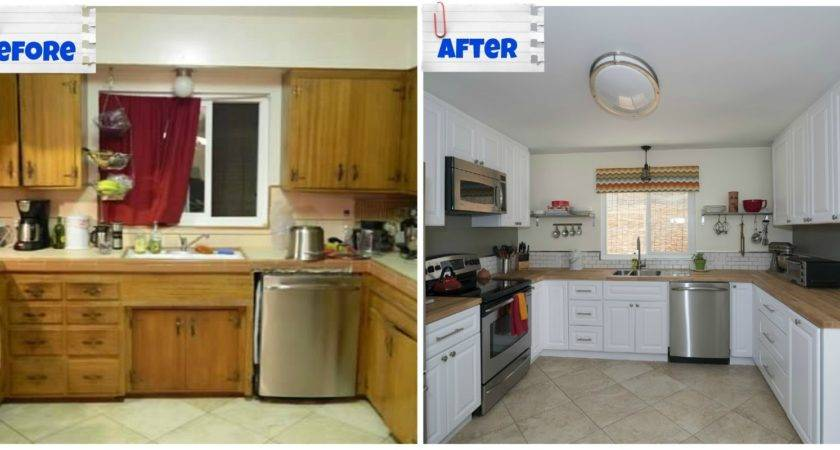 Small Old Kitchen Makeover Enchanting