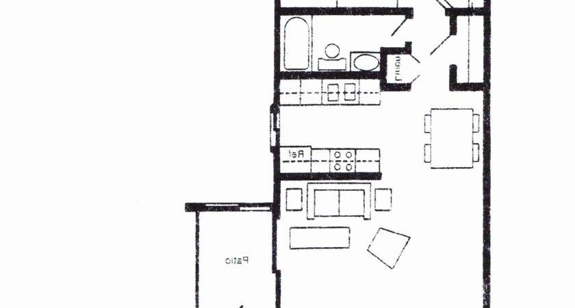 Small One Room Cabin Floor Plans