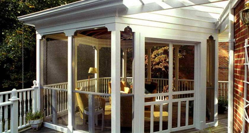 Small Porches Decks Back Porch Ideas Patio