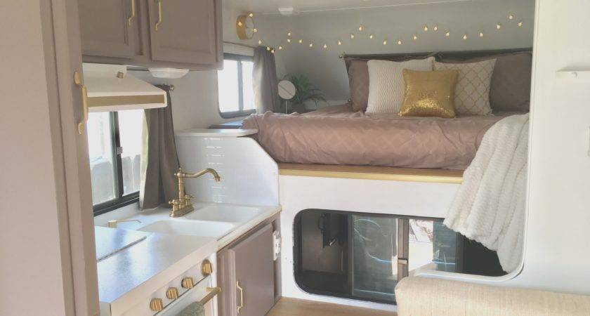 Small Remodel Before After Awesome Truck Camper