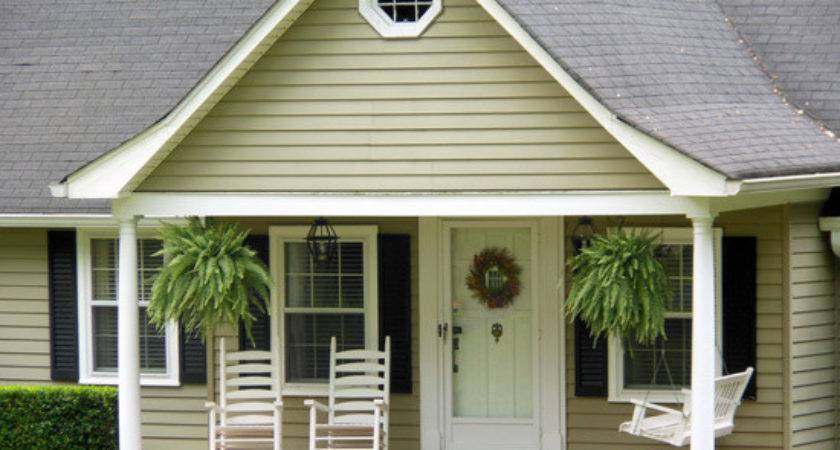 Small Roof Sophisticated Concave Porch