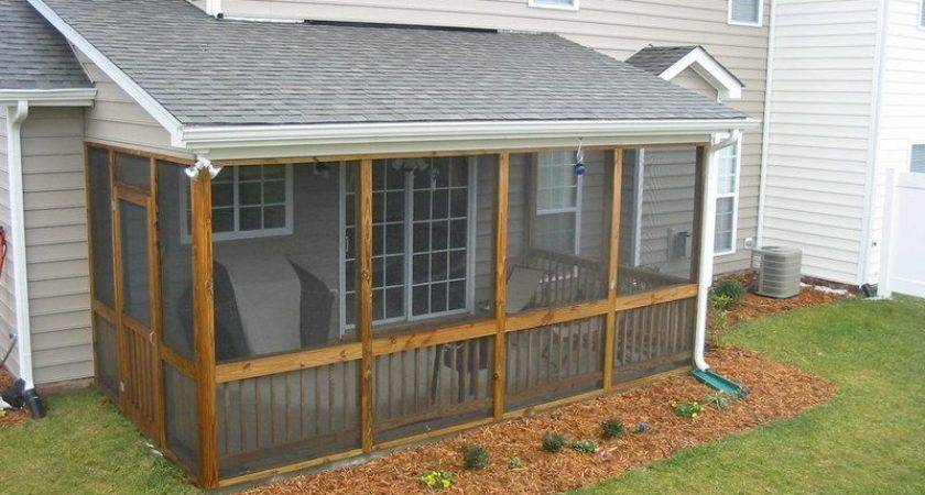 Small Screened Porch Designs Patio