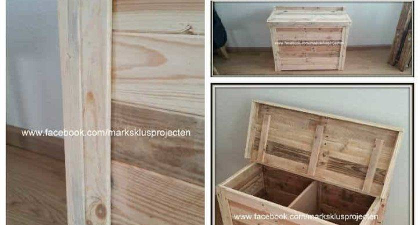 Small Storage Cabinet Recycled Pallet Wood Pallets