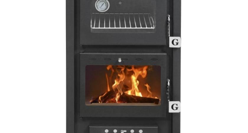 Small Wood Cookstove Black