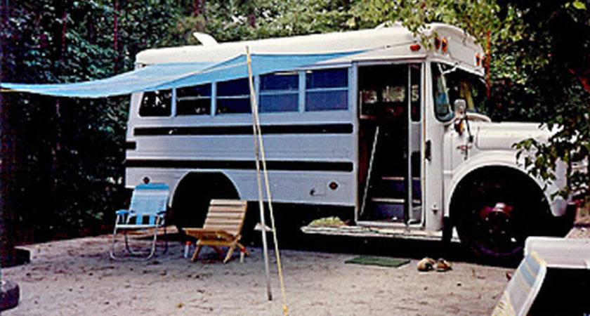 Smart Hacks Conversions Renovations Short Bus Camper