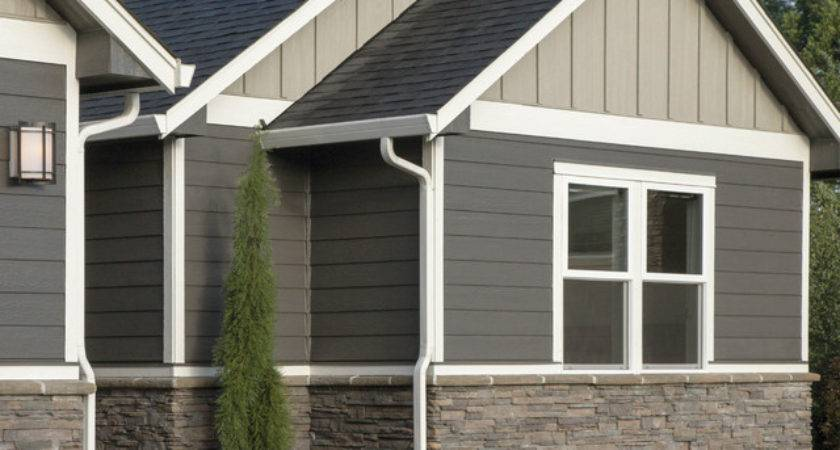 Smartside Panel Siding Modern Exterior