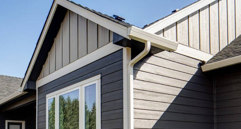 Smartside Panel Siding Rustic Exterior