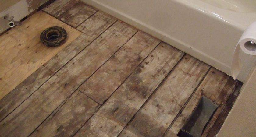 Smiths Laying Bathroom Wood Flooring