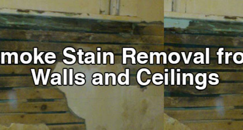 Smoke Stain Removal Walls Ceilings Home