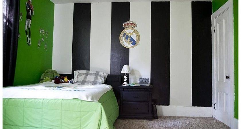 Soccer Boys Bedroom Design Ideas