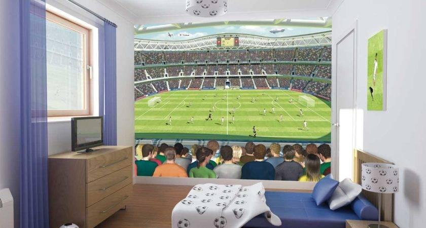 Soccer Decorations Boys Room
