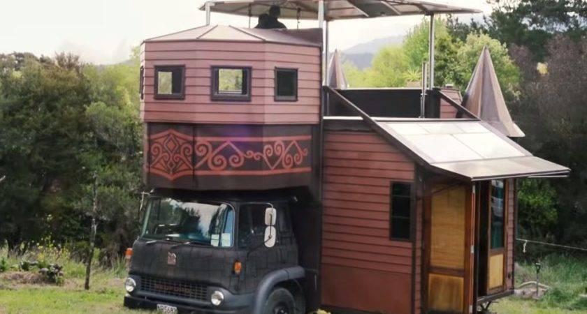 Solar Off Grid Transforming Castle House Truck