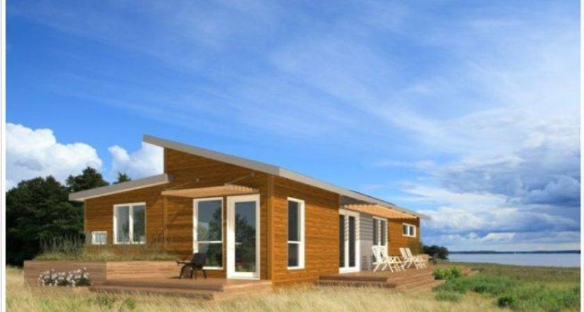 Solar Panels Modular Homes Wooden Home