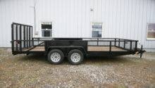 Sold Holmes Commercial Utility Trailer