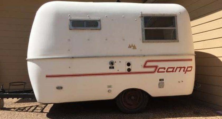 Sold Scamp Travel Trailer West
