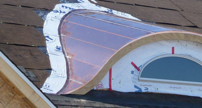 Soldered Flat Seam Metal Roof