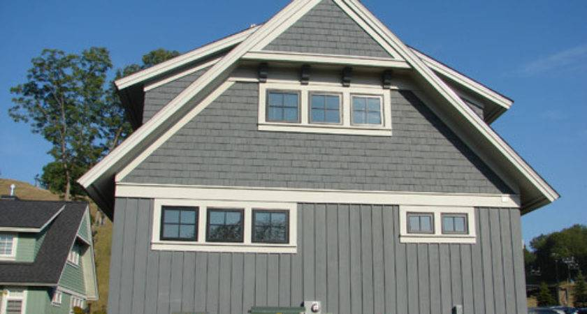 Solid Cedar Shingles Painted Eastern White