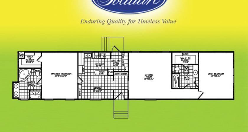 Solitaire Homes Single Wide Floor Plans Matttroy