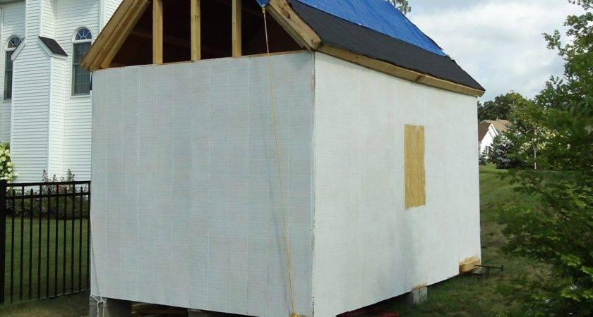 Sonoma Shanty Installing Siding Ends