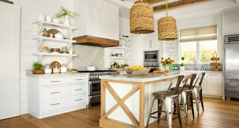 Sophisticated Beach House Decor Kitchen All