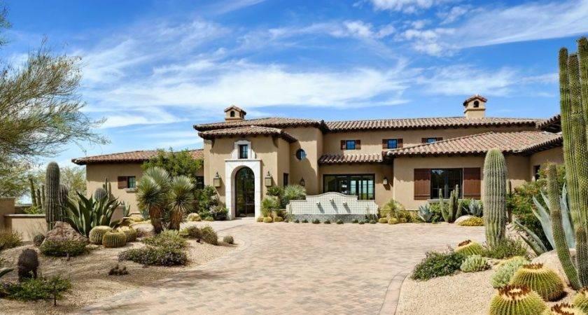 Southwestern Style Desert Setting Phx Architecture