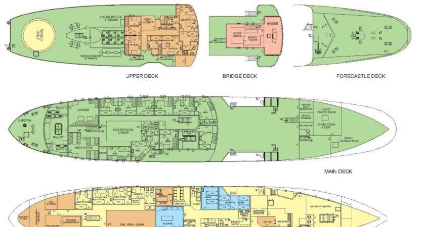 Space Cargo Ship Deck Plan Pics