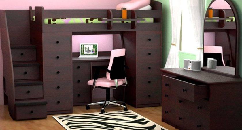 Space Saver Bedroom Designs