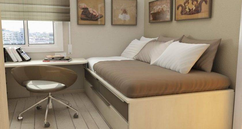 Space Saving Bedroom Ideas Small Houses