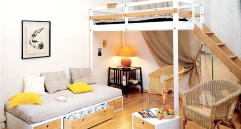 Space Saving Small Bedroom Home Design Garden