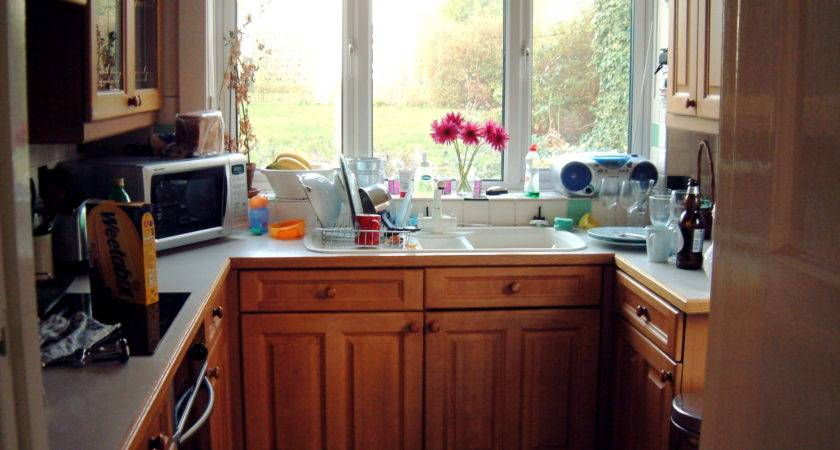 Space Saving Tips Small Kitchens Interior