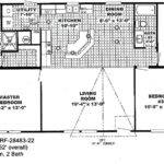 Spacious Double Wide Mobile Home Floorplans Solitaire