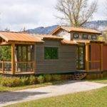 Spacious Modern Park Model Tiny House Trailer