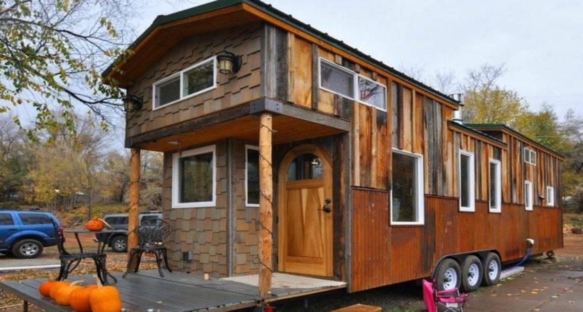Spacious Tiny Trailer Home Small Homes Design Ideas