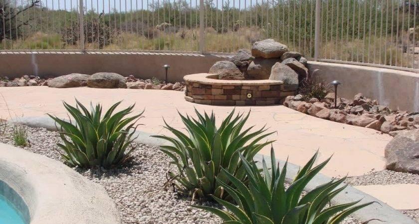 Special Desert Landscaping Ideas Home Bistrodre Porch