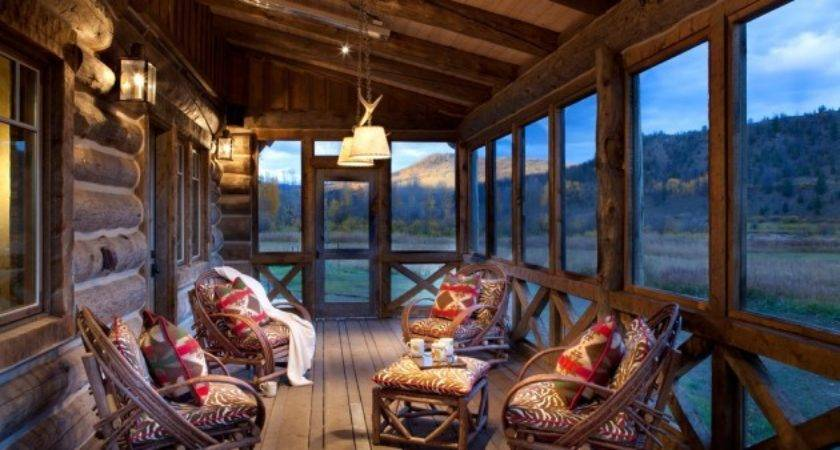 Spectacular Rustic Porch Designs Every House