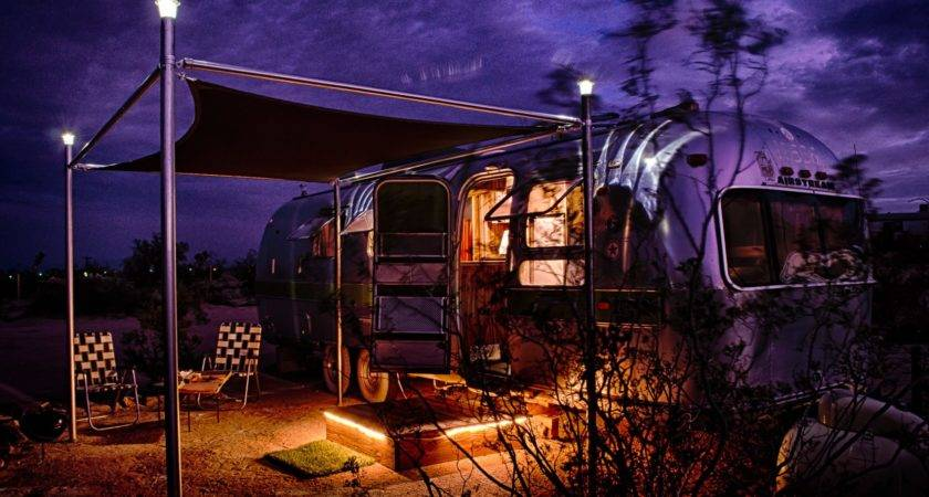 Spend Night Some America Coolest Airstream