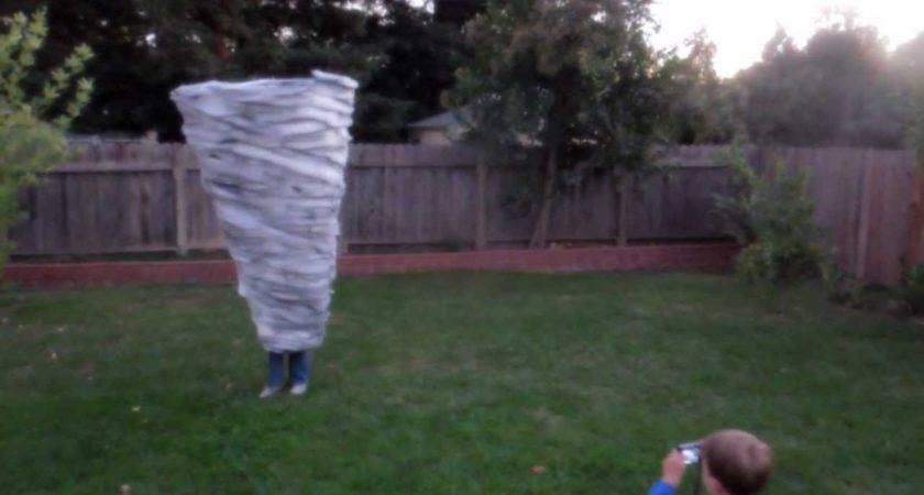 Spinning Tornado Costume Fast Daylight Youtube