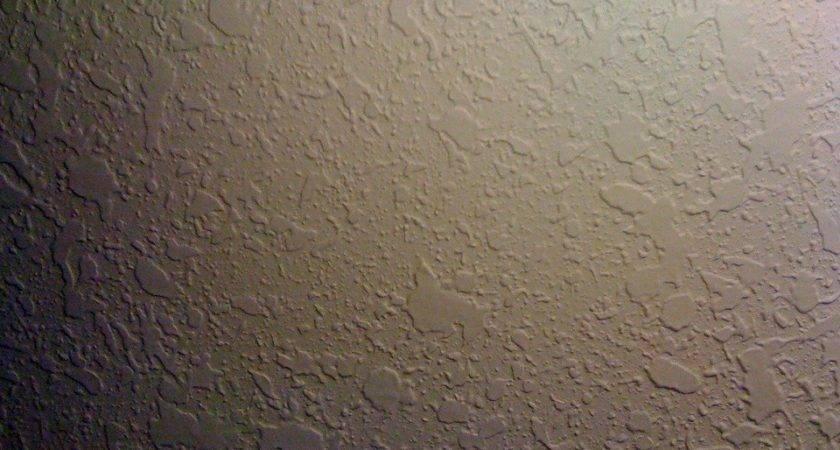 Splatter Knockdown Drywall Texture
