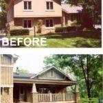 Split Level House Remodel Before After Pixshark
