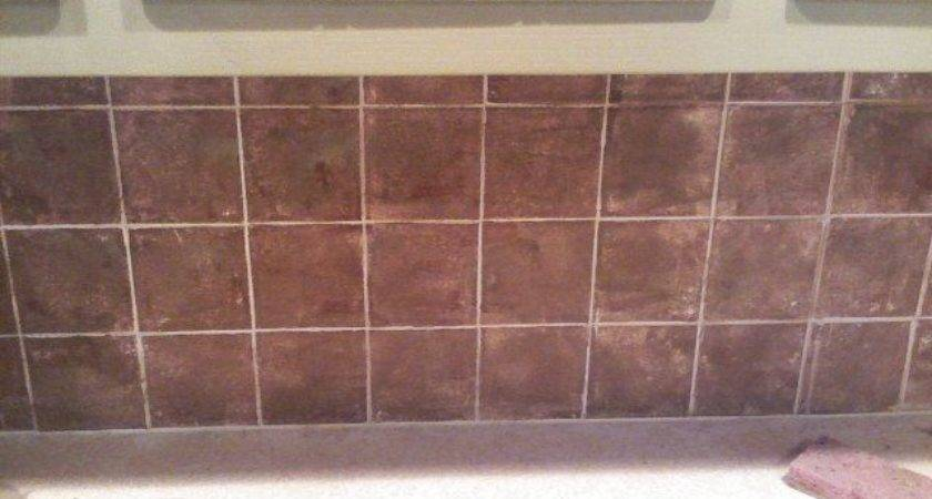 Sponge Paint Tile Backsplash Hunker