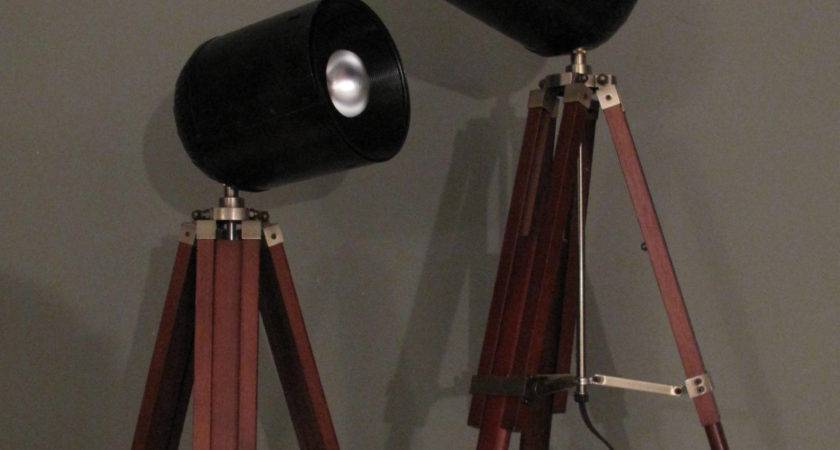 Spotlight Tripod Lamp Diy Scavenger Chic