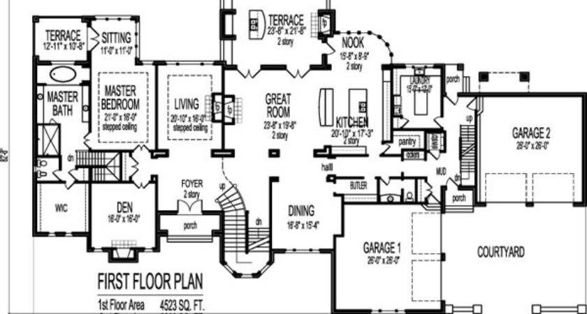 Square Foot Cool House Floor Plans Bedroom Story