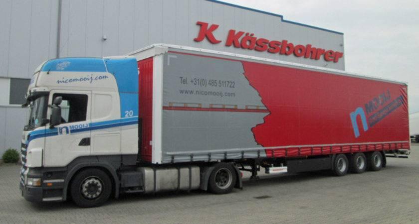 Ssbohrer Delivers Double Deck Curtain Siders Dutch
