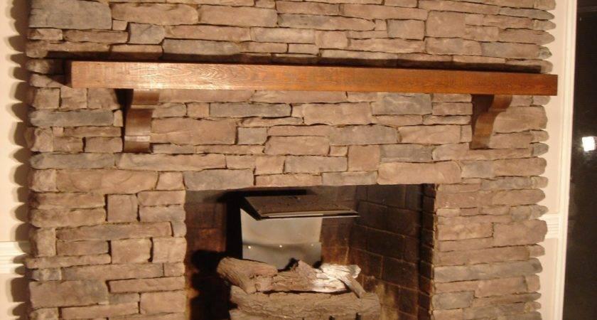 Stack Stone Fireplace Diy Ideas Along