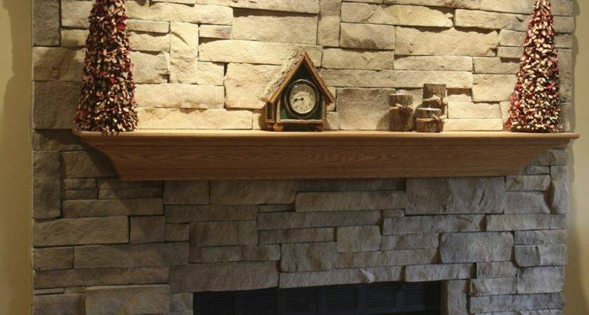 Stacked Stone Fireplaces Ideas Kvriver