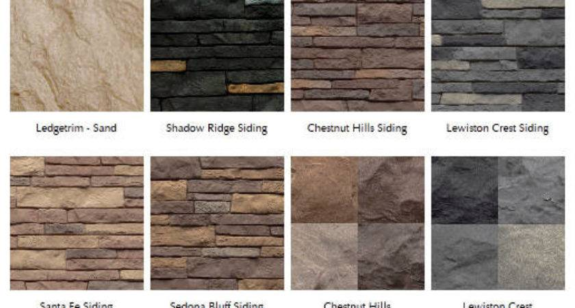 Stacked Stone Vinyl Siding Styles Pin