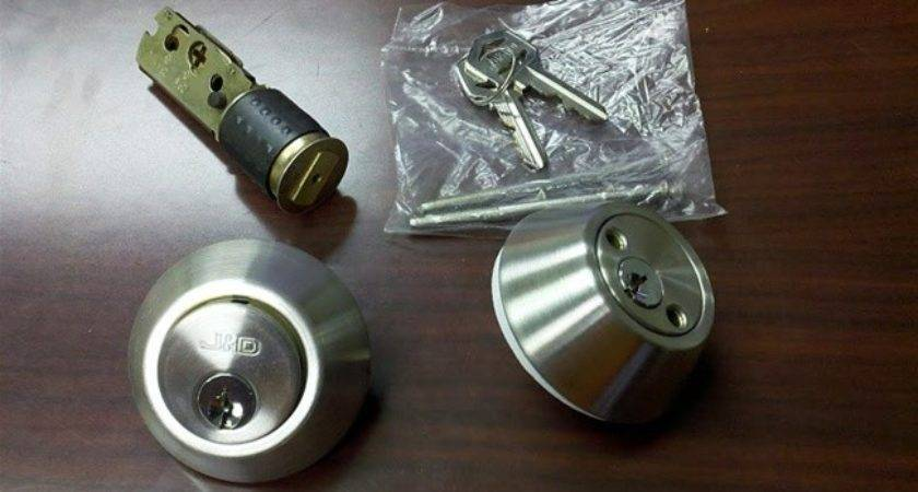 Stainless Steel Deadbolt Lock Double Cylinder Mobile