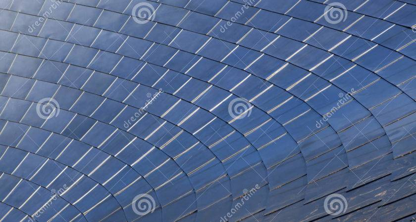 Stainless Steel Shingles Curved Roof